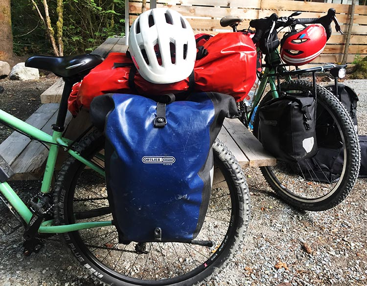 7 of the best bike panniers. Ortlieb panniers can be seen on the bikes of many people doing long distance bike tours