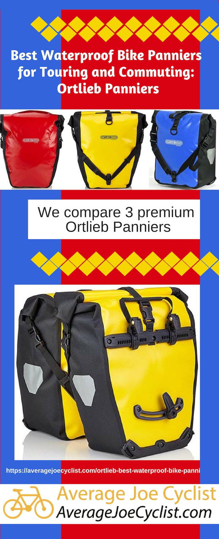 Best Waterproof Bike Panniers for Touring and Commuting: Ortlieb Bike Panniers