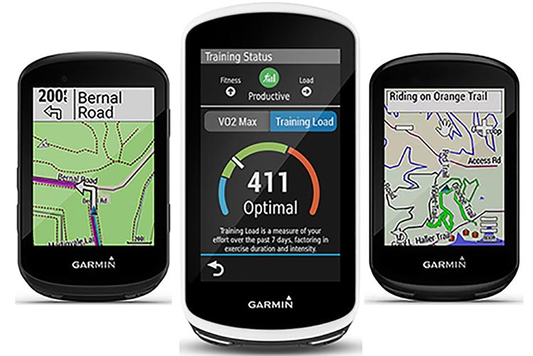 Garmin Edge 530 vs 830 vs 1030 Plus GPS bike computers - which one is right for you? In the graphic above, left to right, are the Garmin Edge 530, Edge 1030, and Edge 830