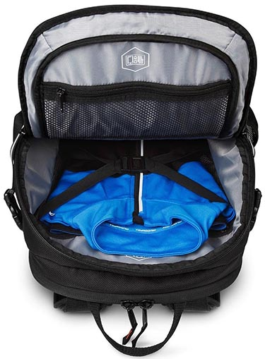 Targus Work + Play Cycling Backpack Review. It is easy to organize your belongings inside the Targus Work + Play Cycling Backpack