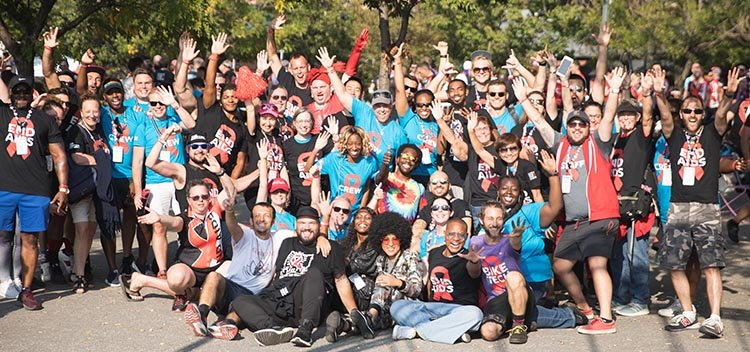 This year, Cycle for the Cause raised $2.1 million to fight to end HIV and AIDS