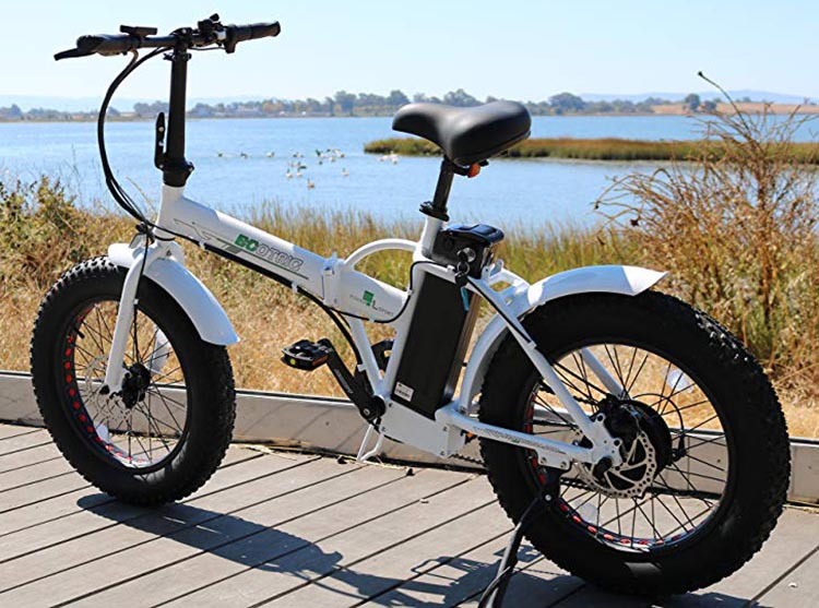 Best cheap ebikes. The Ecotric foldable fat-tire ebike
