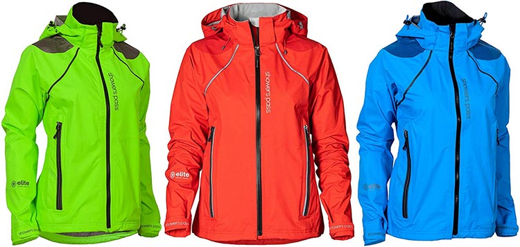 Showers Pass Waterproof Windproof Women's Refuge Rain Jacket is available in three bright, beautiful colors