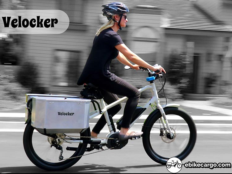 Velocker Cargo Panniers are an innovative new product that enable you to safely transport heavy, expensive tools on your bike or ebike