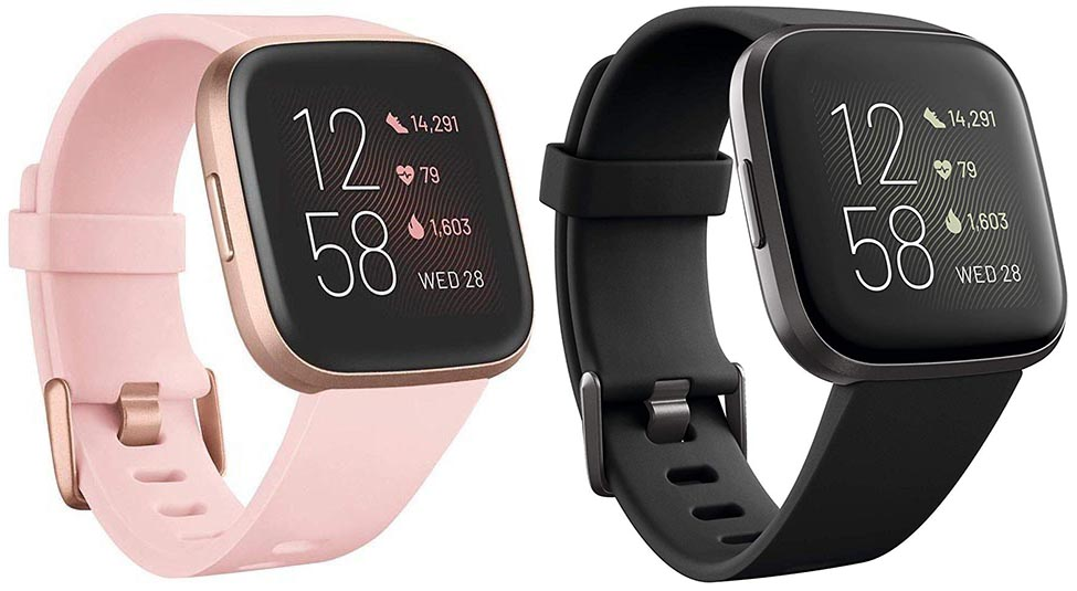 7 of the Best Fitness Trackers. The price of the Fitbit Versa 2 is usually less than $200. Click here for the latest price on Amazon