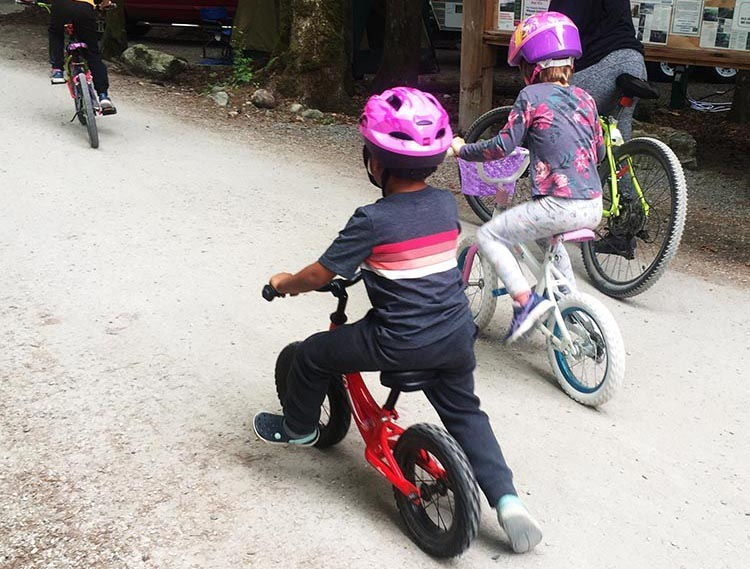 When you teach your child to ride a bike, you are setting them up for a lifetime of healthy fun