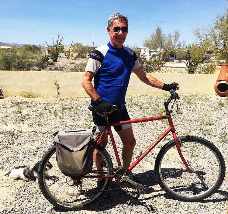 5 Quick and Easy Tips to Lose Weight Cycling. Frequent cycling can enable you to stay lean and strong well into your senior years. This is our friend Wayne, who is in better shape than most men half his age - thanks in large part to years of cycling