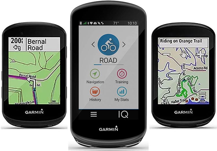 Garmin Edge 530 vs 830 vs 1030 Plus GPS bike computers - which one is right for you? In the graphic above, left to right, are the Garmin Edge 530, the Edge 1030 Plus, and the Edge 830