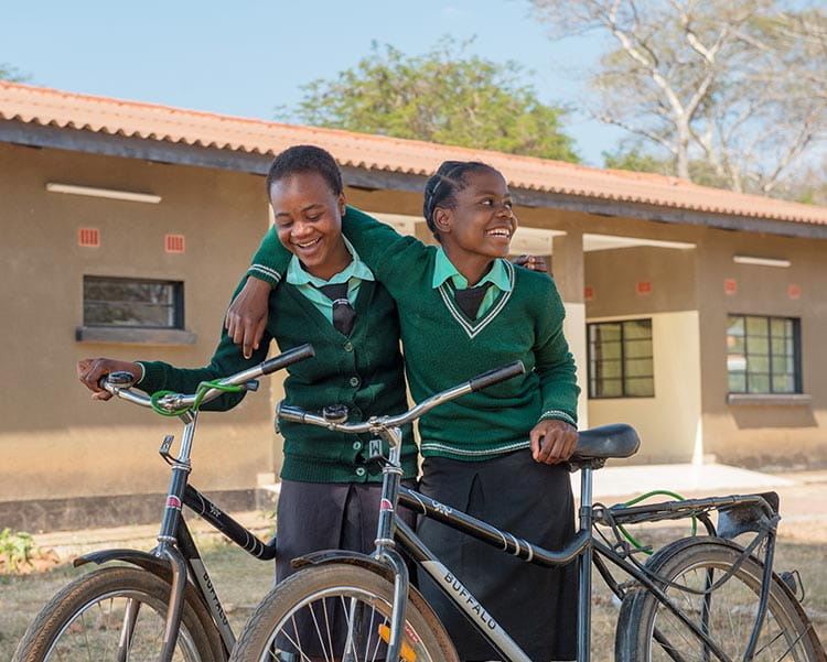 The ability to ride a bike to school can be life changing for a girl. You can help by participating in Pedal to Empower