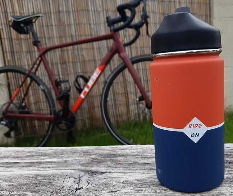 This new cycling flask promises to make cycling a lot more fun - especially for those who want to enjoy a hot or chilled drink on their ride