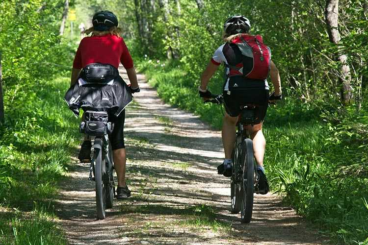 Find fun places and just get out there and ride your bike so you can lose weight cycling!