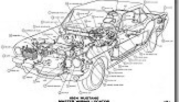1967 mustang wiring and vacuum diagrams average joe restoration 1964 mustang wiring diagrams