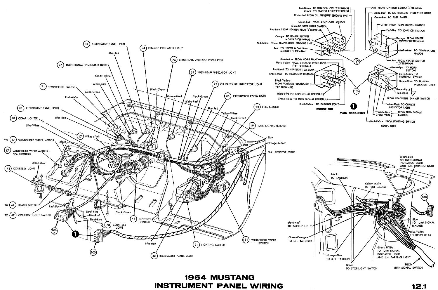 1956 Ford Instrument Cluster Wiring | Wiring Diagram Database