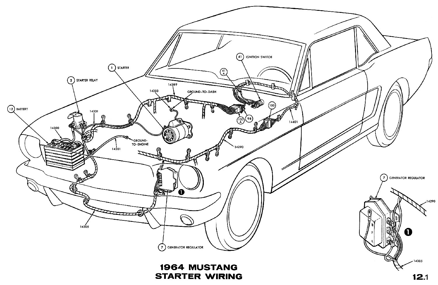 V8 Mustang Engine Diagram
