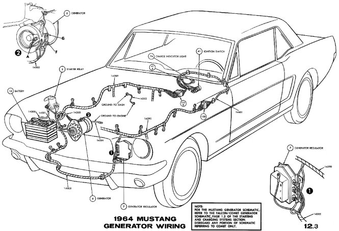 1965 mustang wiring diagrams wiring diagram 1964 mustang wiring diagrams average joe restoration 1964½ 1965 wiring diagram manual ford