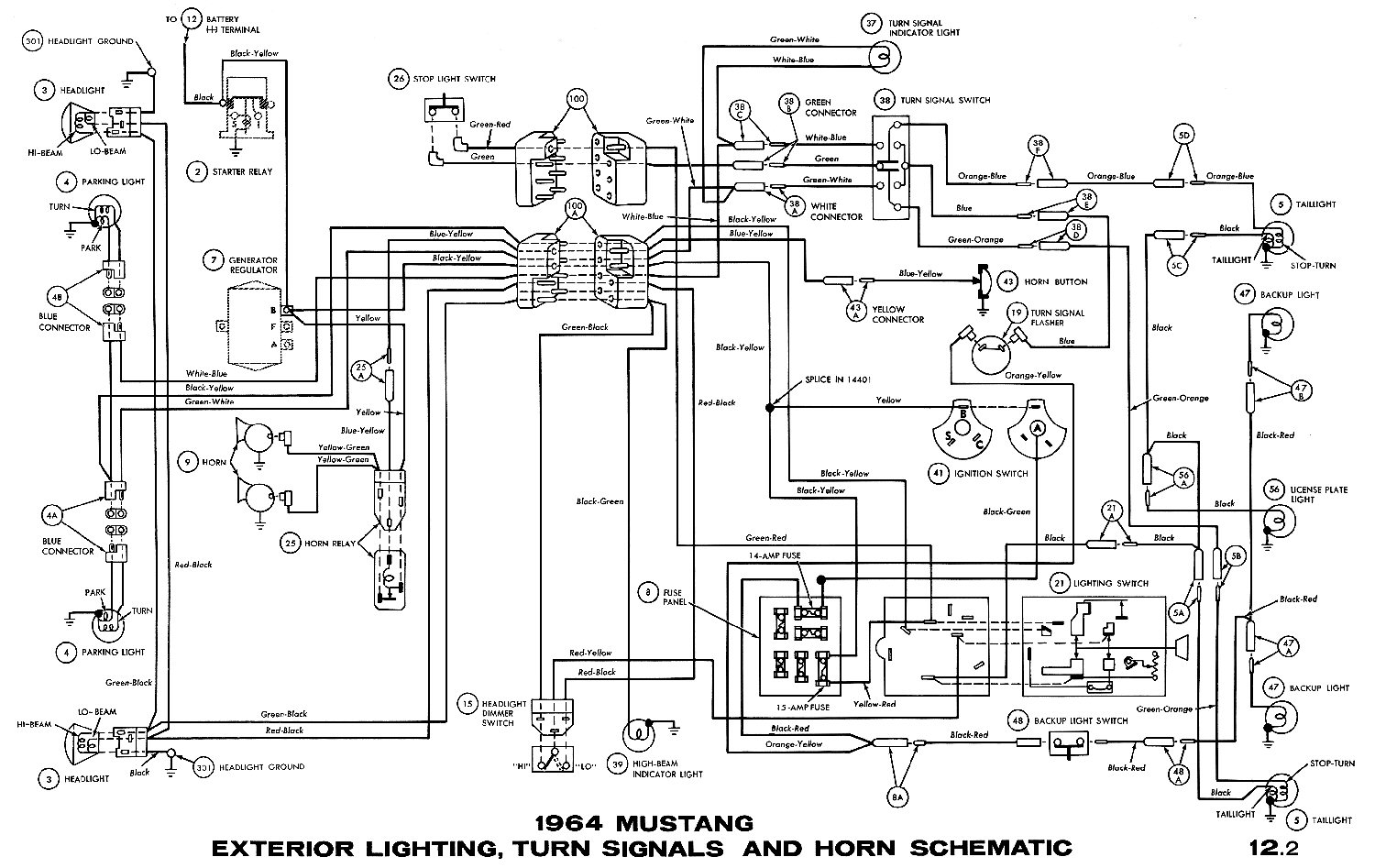 Mustang Ignition Diagram