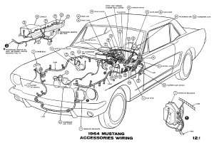 Courtesy Light Wiring Diagram For 1966 Mustang   Wiring