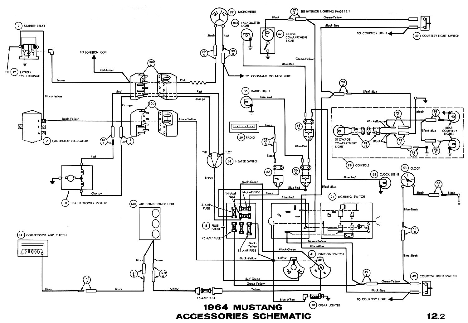 wiring diagram for a 1967 mustang