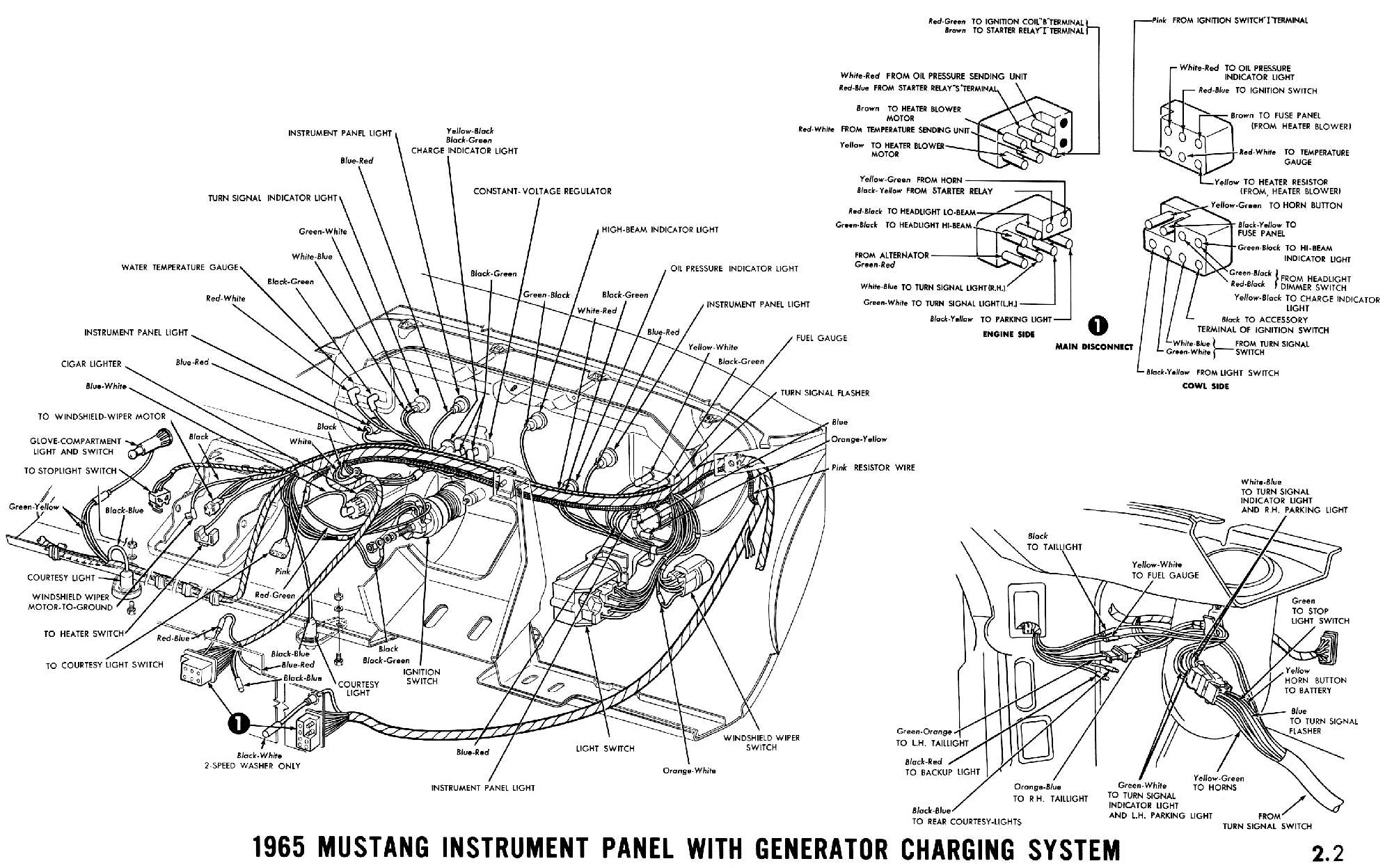 Ford F100 Dash Wiring Diagram