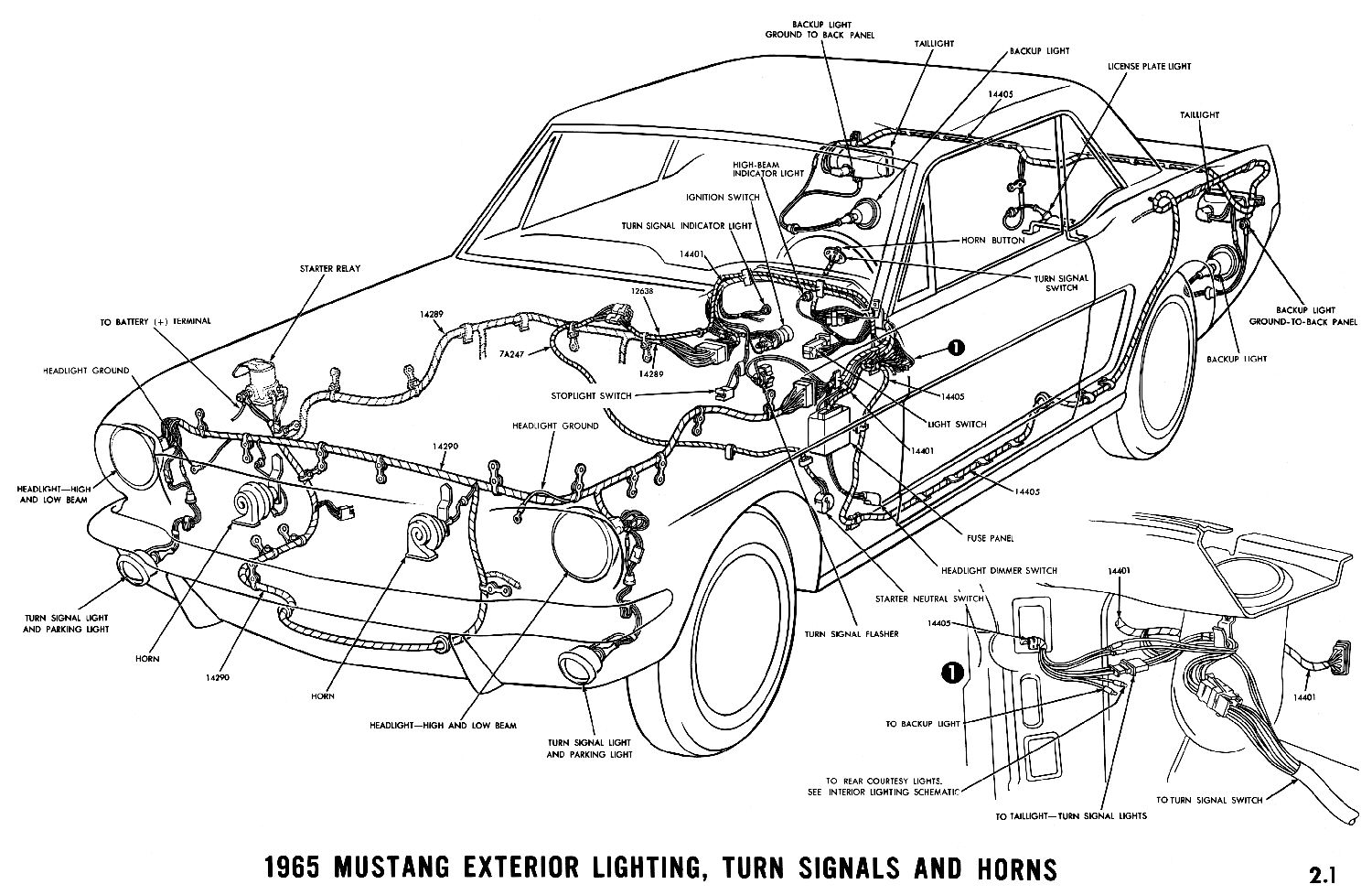 Mustang Engine Wiring Harness Schematic