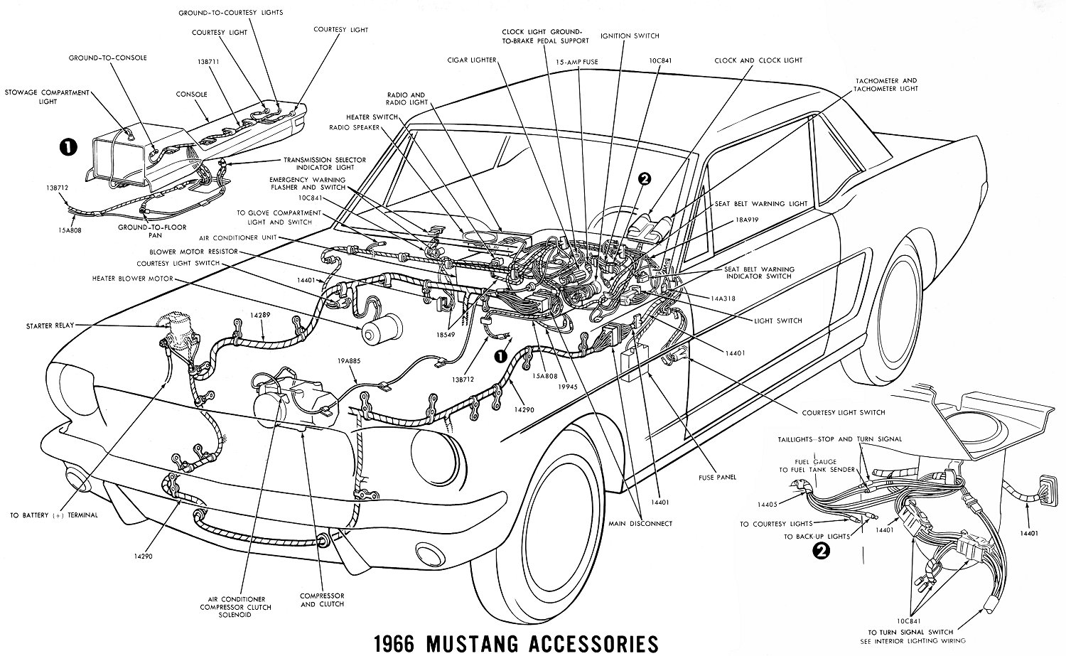 66 Mustang Engine Diagram