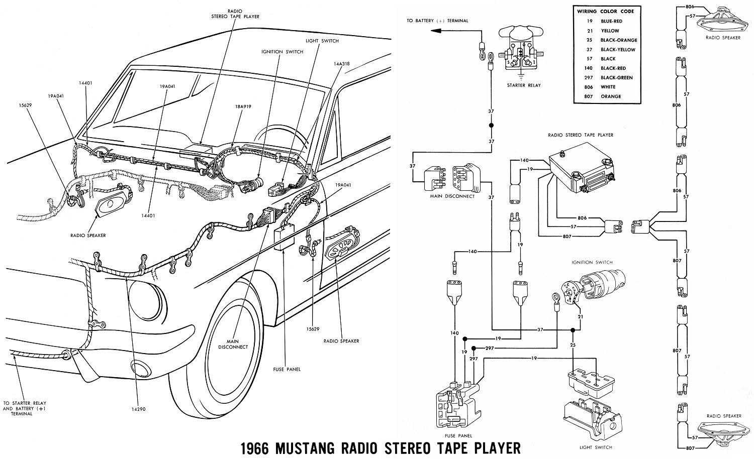 New Wiring Harness 1966 Ford Galaxie on 1964 Pontiac Catalina Wiring Diagram