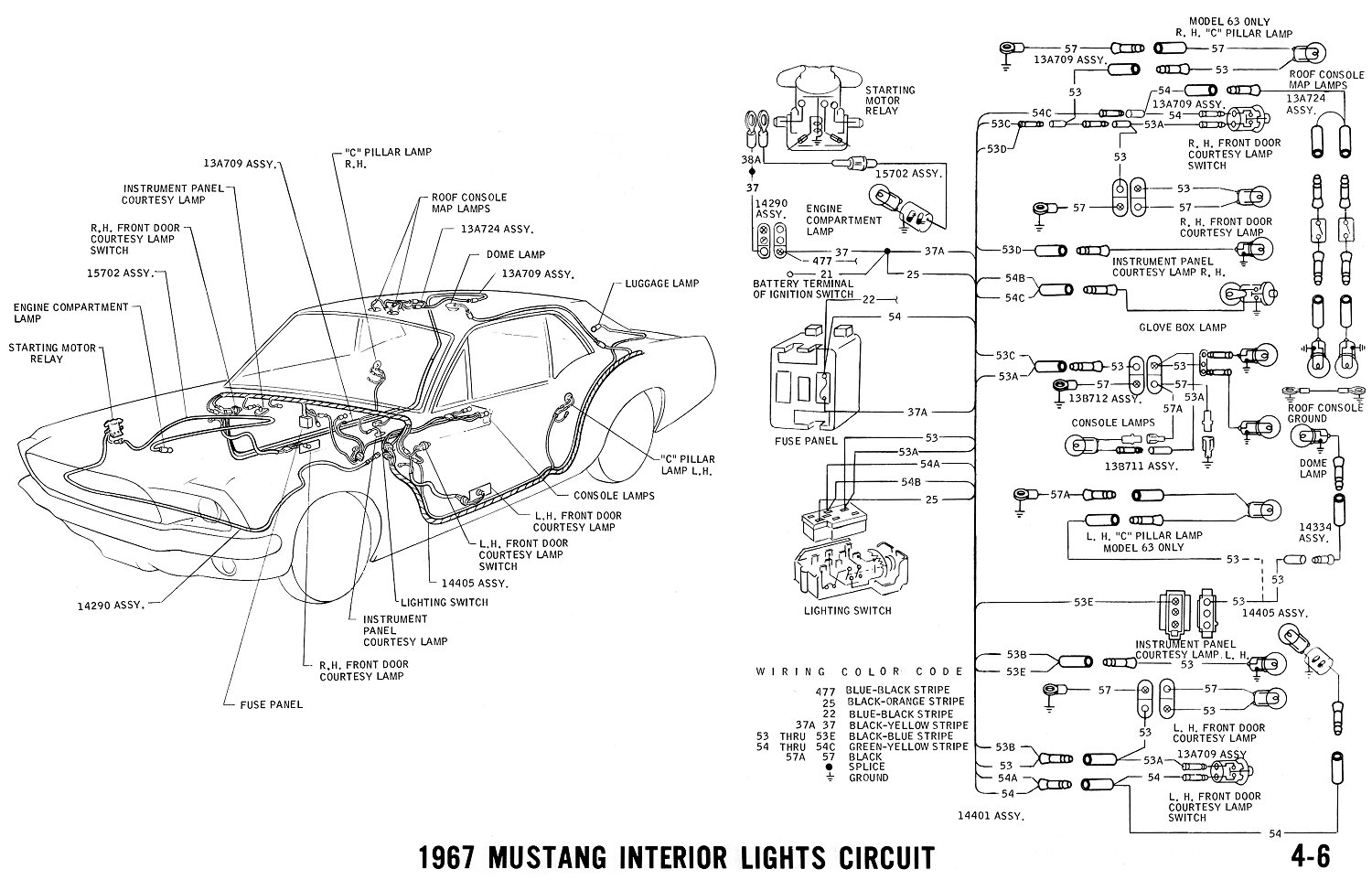 Ford Mustang Vacuum Diagrams