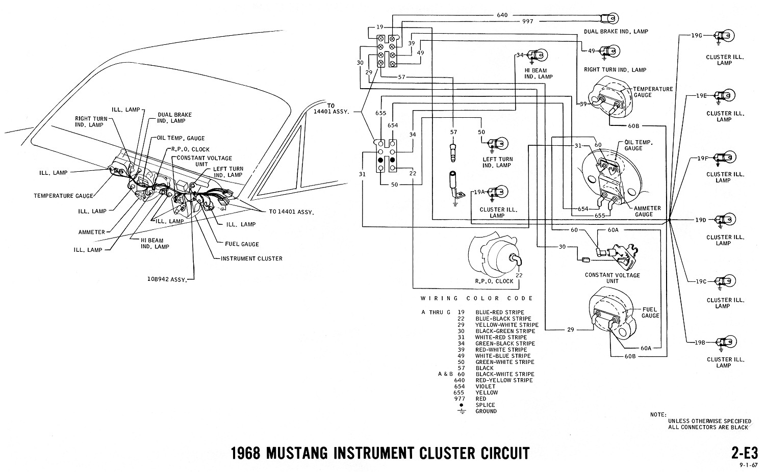 Mustang Wiper Wiring Diagrams
