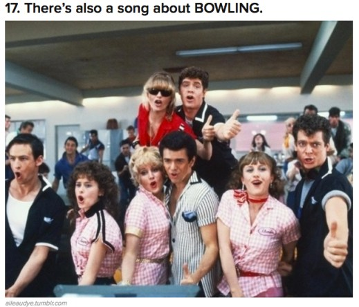 bowling song