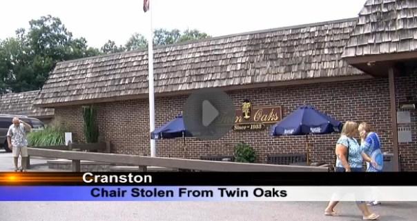 twin oaks chair stolen