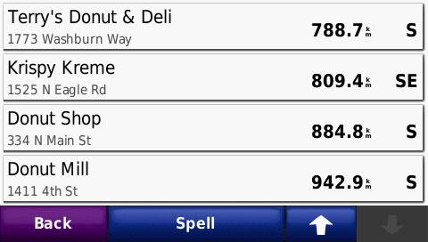 Nuvi 765t Mmmmmmm Donut.