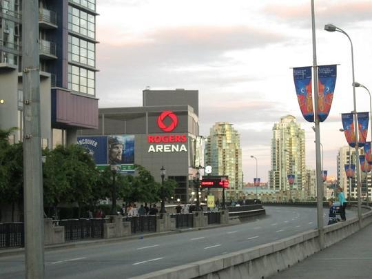 Deserted Rogers Arena After Game 7