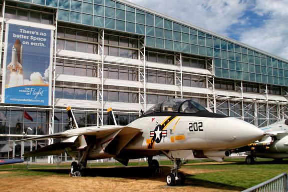 F14 Tomcat at Museum of Flight in Seattle