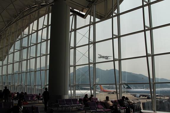 Hong Kong International Airport Tarmac Views