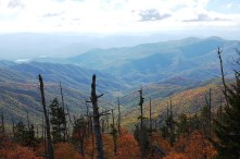 A Patchwork Valley seen from Clingman's Dome