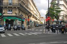 Motorcycles are a way of life in Paris