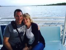 Enjoying a dolphin cruise