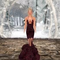 Winter Berries Dress