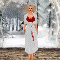 White Heart Rockabilly Coat