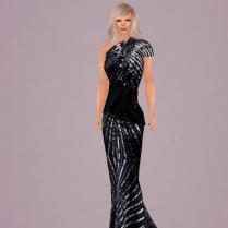 Walk Unafraid Gown