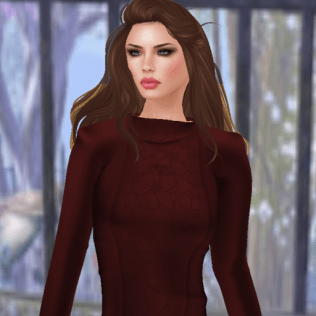 lavian by sage-ava dress in red_001