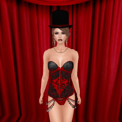 stitched gods cabaret top hat, kl couture sophia jewelry_001