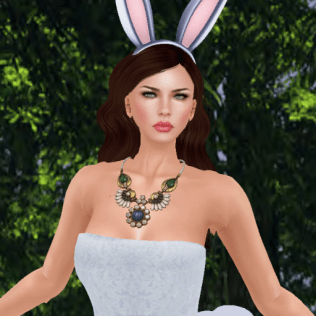 revamped posh pixels sweetness blue dress_002
