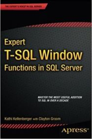 Expert T-SQL For Window Functions Cover