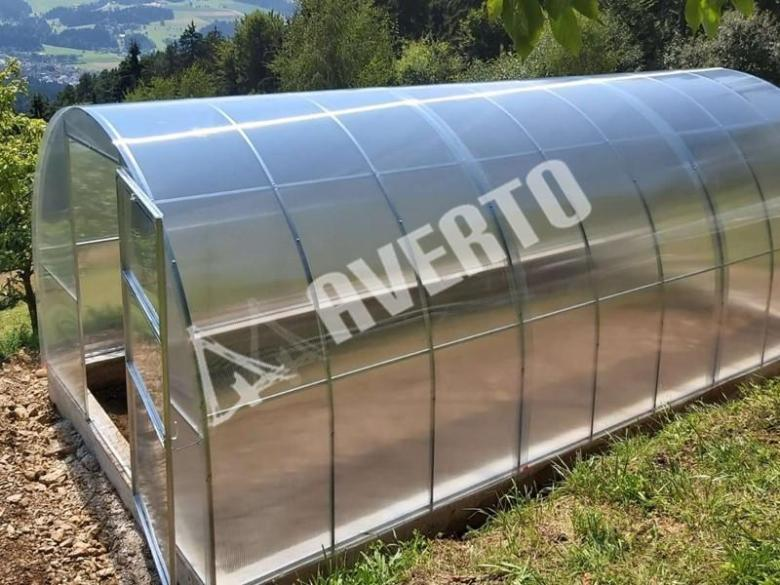 Greenhouses with polycarbonate cover | Averto