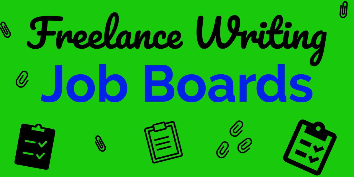 freelance writer job listings