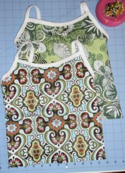 Sewing a Camisole tutorial