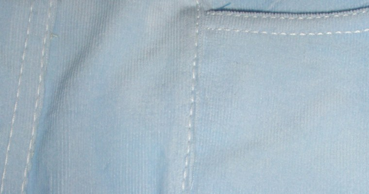 Jeans Part Two and Three Quarters: Sew part 1 and part 2 together, before doing part 3