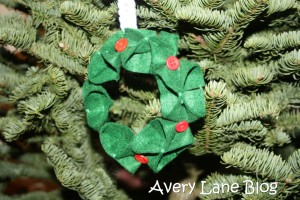 Avery Lane Blog: diy handmade felt ornaments