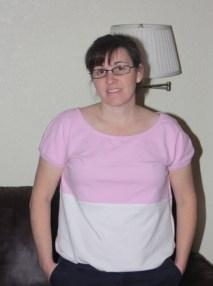Avery Lane Blog Otto Color Block t-shirt